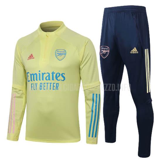 felpa arsenal giallo 2020-21