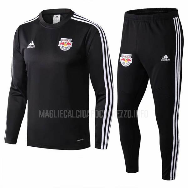 felpa new york red bulls nero 2019-2020
