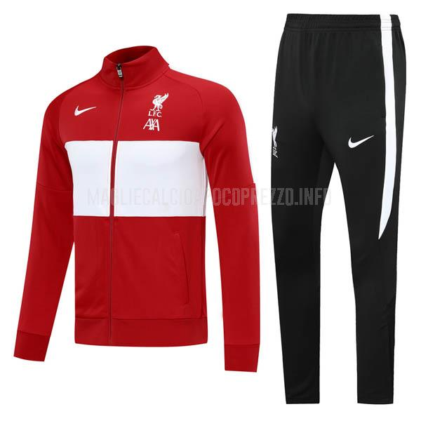 giacca liverpool rosso-bianco 2020-21
