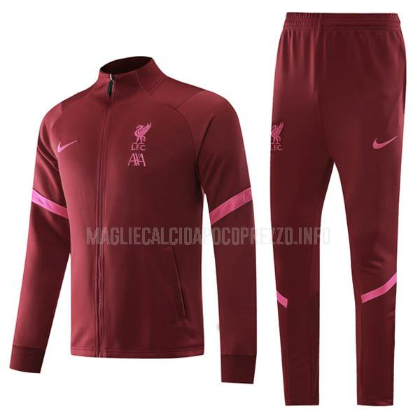 giacca liverpool rosso 2020-21