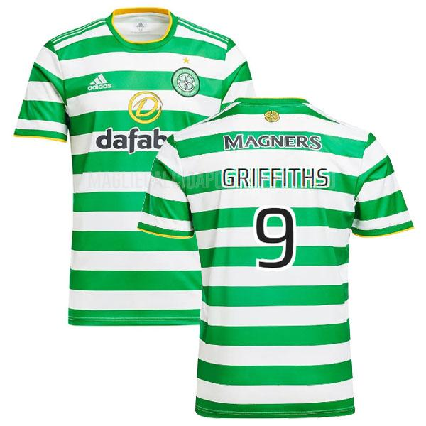 maglietta celtic griffiths home 2020-21