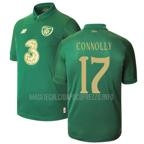 maglietta irlanda connolly home 2019-2020