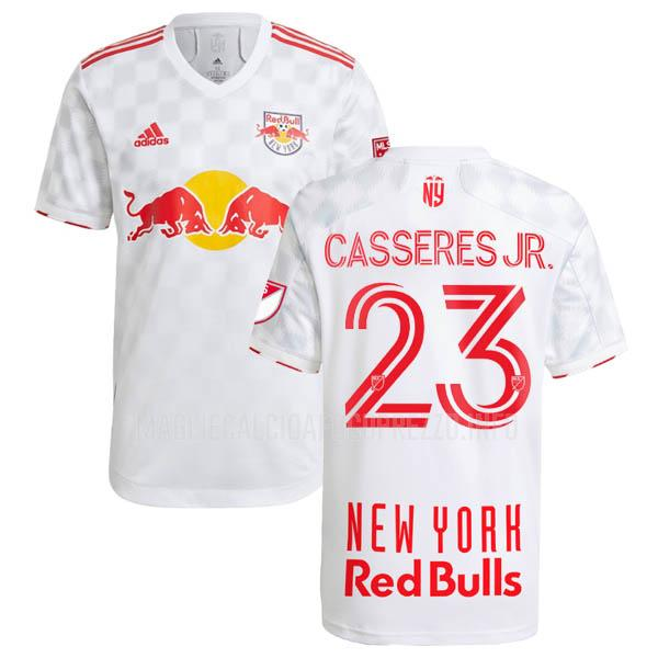 maglietta new york red bulls cristian casseres jr home 2021-22