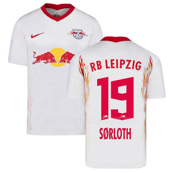 maglietta rb leipzig sorloth home 2020-21