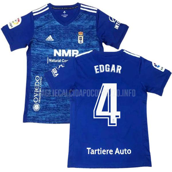 maglietta real oviedo edgar home 2020-21