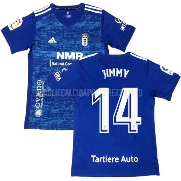 maglietta real oviedo jimmy home 2020-21