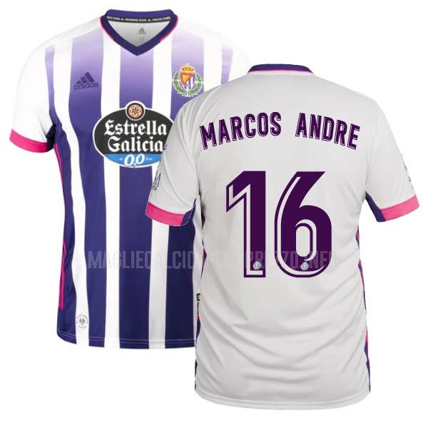 maglietta real valladolid marcos andre home 2020-21