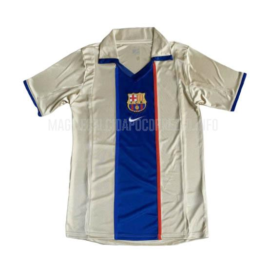 maglietta retro barcelona away 2002