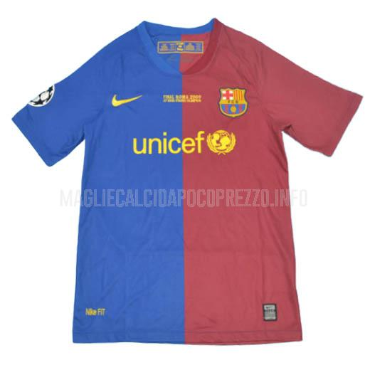 maglietta retro barcelona ucl final home 2009