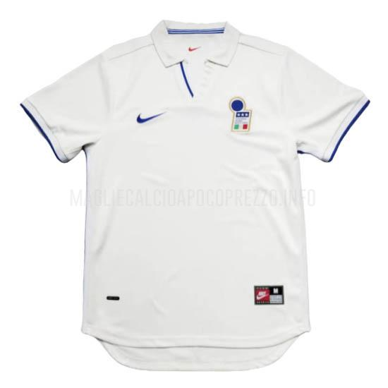 maglietta retro italia away 1998