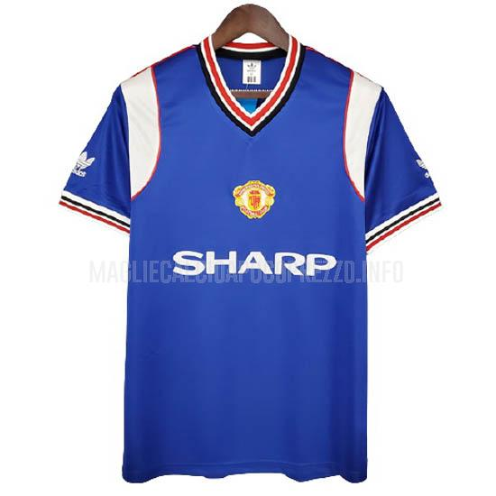 maglietta retro manchester united away 1985-86