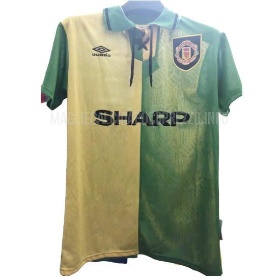 maglietta retro manchester united away 1992-94
