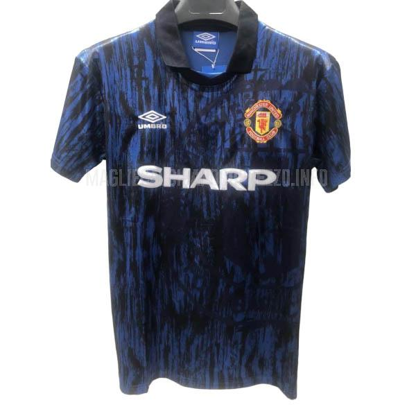 maglietta retro manchester united away 1993