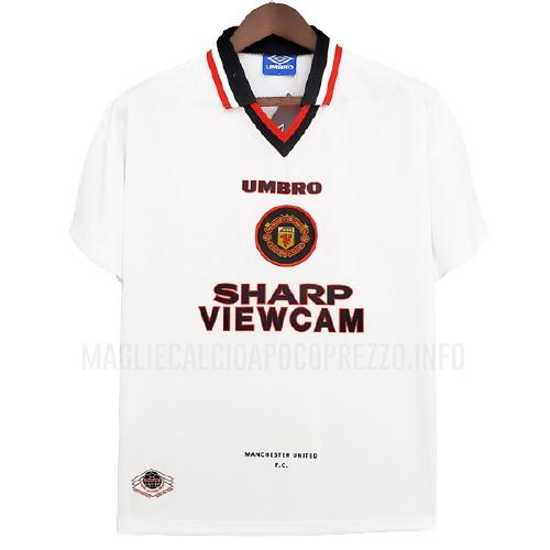 maglietta retro manchester united away 1996-97