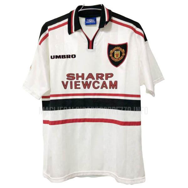 maglietta retro manchester united away 1997-99