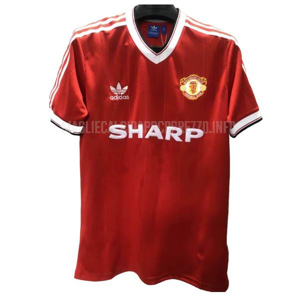 maglietta retro manchester united home 1984