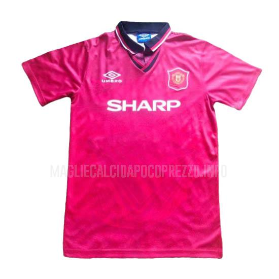 maglietta retro manchester united home 1994-96