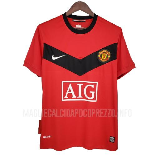 maglietta retro manchester united home 2009-2010