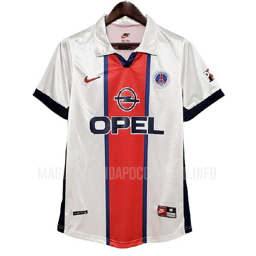 maglietta retro paris saint-germain away 1997-1998