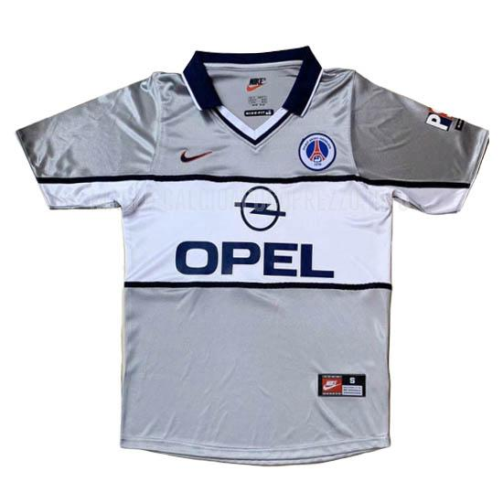 maglietta retro paris saint-germain away 2000