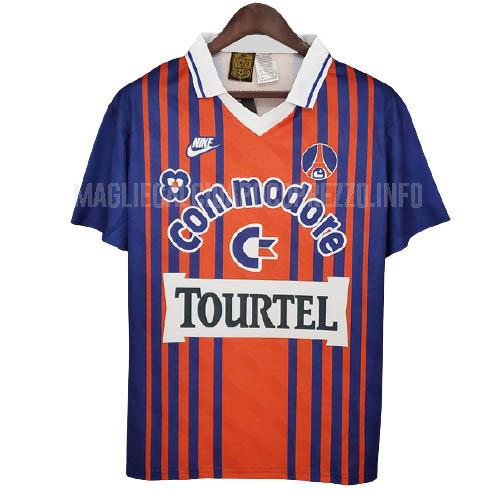 maglietta retro paris saint-germain home 1993-94