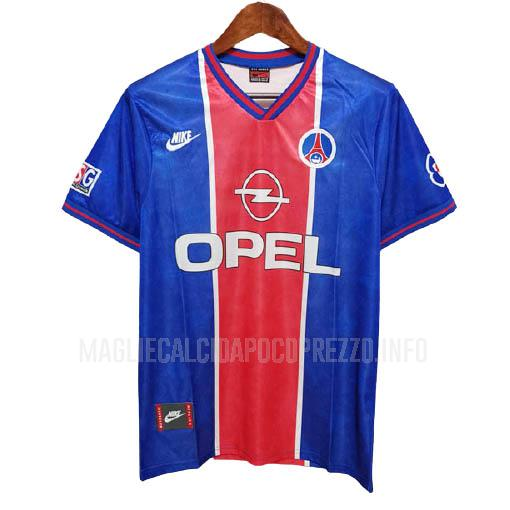 maglietta retro paris saint-germain home 1995-96