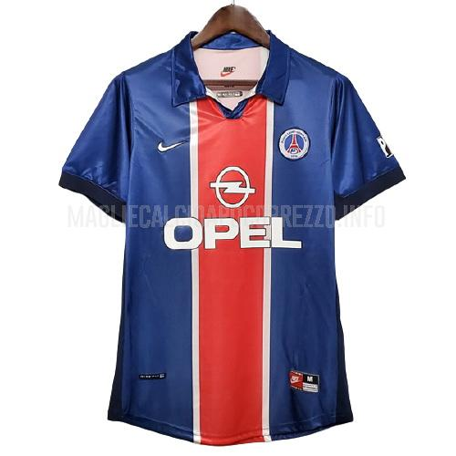 maglietta retro paris saint-germain home 1997-1998