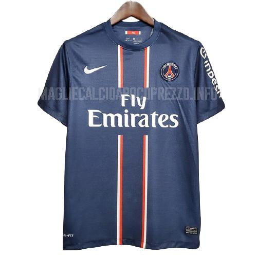 maglietta retro paris saint-germain home 2012-2013