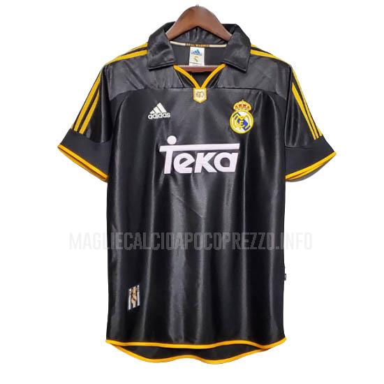 maglietta retro real madrid away 1999-2000