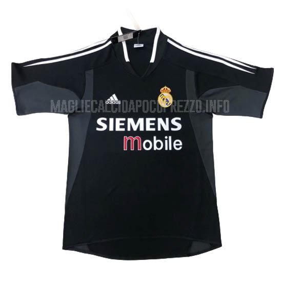 maglietta retro real madrid away 2004-2005