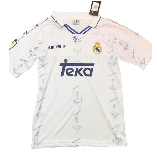 maglietta retro real madrid home 1994-96