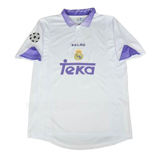 maglietta retro real madrid home 1996-97