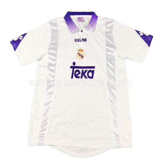maglietta retro real madrid home 1997-98