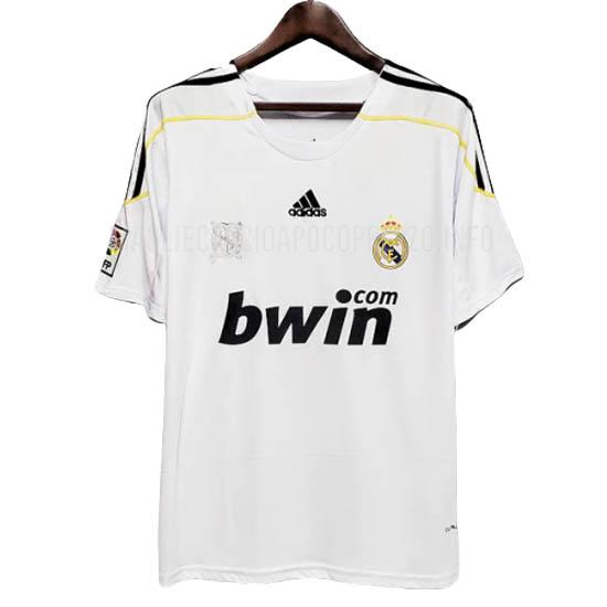 maglietta retro real madrid home 2009-2010