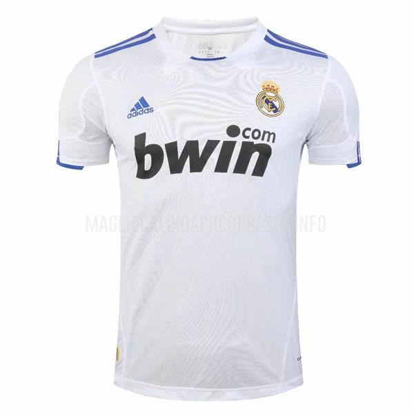 maglietta retro real madrid home 2010-2011