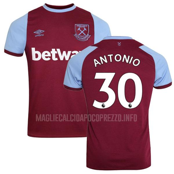 maglietta west ham antonio home 2020-21