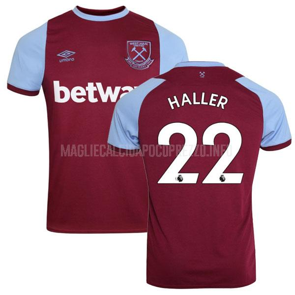 maglietta west ham haller home 2020-21